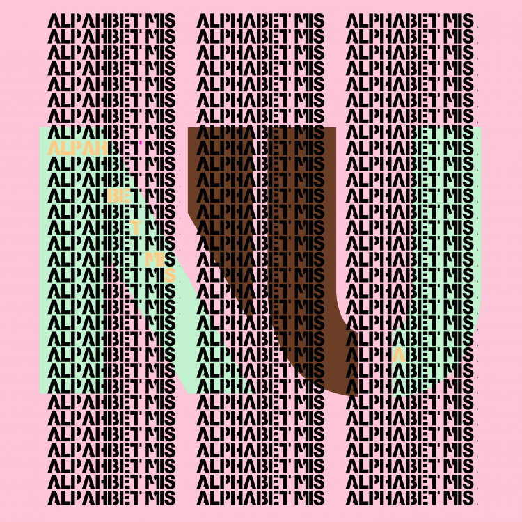 Pink Alphabet... Mis a Nu...